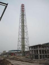 塔架式不銹鋼工業煙囪化工廠專用