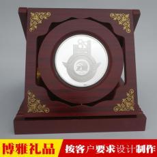 老师退休纪念品 表彰优秀教师奖品 定制奖章