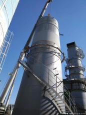 工業不銹鋼煙囪新建防腐除塵