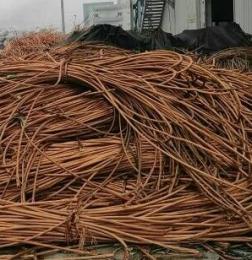 今天丰台回收电缆一吨带皮回收价格