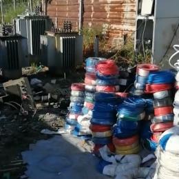 今天石景山回收电缆回收废旧电缆价格