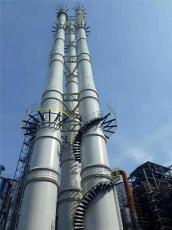 大型工廠專用套筒式耐腐蝕耐高溫鋼煙囪