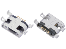 3A快充MICRO USB 5P母座大电流充电安卓母座