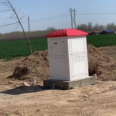 机井灌溉smc玻璃钢井房 射频卡控制器