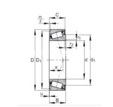 JKOS070/JKOS080/JKOS120圓錐滾子軸承NSK系