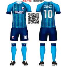 洲卡服饰足球团队服来图来样小批量定制