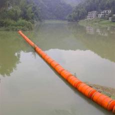 水電站進水口浮筒式攔污漂河道擋垃圾浮體