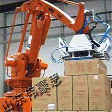 飲料箱機械手碼垛機 設計碼垛機械手系統