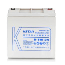 科士达蓄电池6-FM-24 12V24AH紧急电源