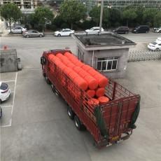 柔性浮筒式攔污排水電站攔垃圾浮漂拉力計算