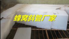 许昌制水厂沉淀池除砂用蜂窝斜管填料