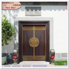 別墅大門 梓潔庭院門 仿古門樓中式大門