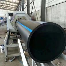 專業管道制造pe管大口徑pe黑色塑料給水管