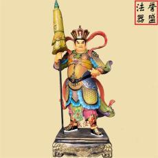 四大天王佛像批發 樹脂西方三圣塑像廠家
