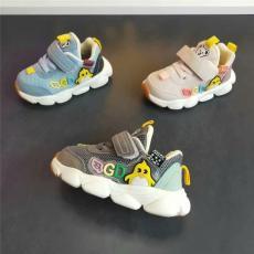 浙江溫州一手碼混批ABC品牌學步嬰兒鞋批發