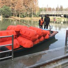 設計水電站取水口漂浮桶河道攔漂繩公司