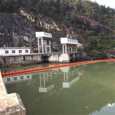 垂直升降式攔污漂上游河道攔渣浮筒施工方案
