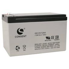 光盛蓄電池GS12V12AHUPS儲能電池