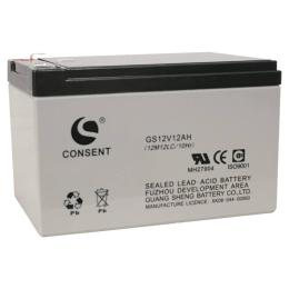 光盛蓄电池GS12V12AHUPS储能电池