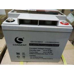 光盛蓄電池GS12V38AH風能發電系統