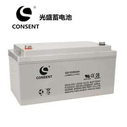 光盛蓄電池GS12V50AH電力系統
