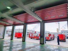 安徽消防大隊車庫門