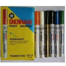 日本雪人CP-12油漆笔/油性笔1.5mm