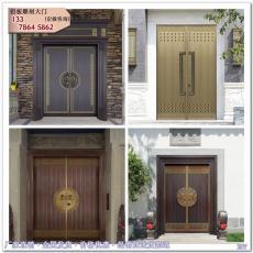 銅門 中式門樓銅門 別墅庭院進戶銅門