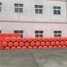 河道夾網式攔漂排水庫攔污塑料浮筒報價