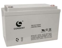 光盛蓄電池GS12V120AH電力系統