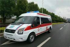 四平长途救护车出租四平全程保障