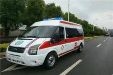 宿州正规120救护车出租宿州价格多少