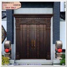 中式大門 銅門 別墅大門 仿古門樓T20765