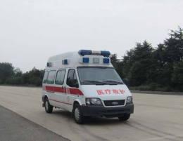 大同长途救护车出租大同收费标准