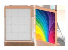 LED透明廣告機