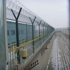 監獄專用蛇腹型鋼網墻鐵絲網廠家定制批發