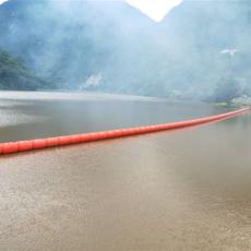 水上防傾翻浮筒式攔污柵上游河道攔污漂排