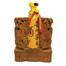 鹽城回收30年茅臺酒瓶-禮盒公司