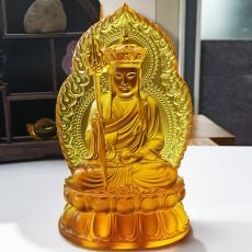 廣州琉璃佛像加工廠家 古法琉璃工廠 琉璃廠