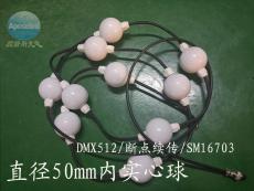D50 360度發光球形燈串