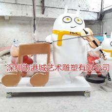 深圳小人偶雕塑新款造型卡通娃娃公仔定制廠