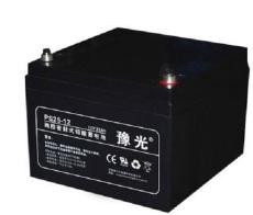 豫光蓄電池PS65-1212V65AH系統供應膠體儲