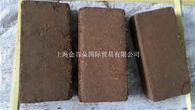 青岛港现货供应印度进口优质低盐椰糠砖