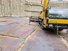 蚌埠鋪路鋼板出租加固路面