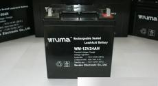 威瑪WILIMA蓄電池WM-12V17AH應急型號膠體