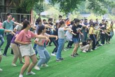 佛山团建基地组织各类趣味团建比赛的农家乐