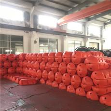 大尺寸圆柱型拦污排水库挡垃圾塑料浮筒