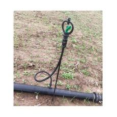上饶果苗pe塑料管地插微喷头连接方法