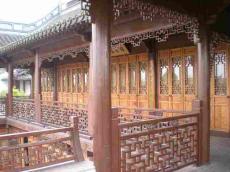 四川做廊架的廠防腐木廊架景觀廊架定制安裝