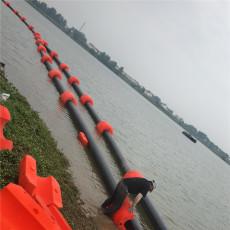 超強滾塑浮體大管徑疏浚管線浮筒生產廠家